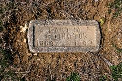 Martha <i>Williams</i> Edington