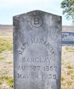 Mary Maranda <i>Locklin</i> Barclay
