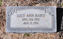 Lucy Ann <i>Rigsby</i> Baird