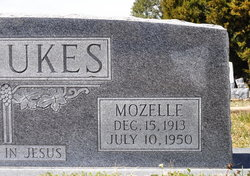 Frances Mozelle <i>Locklin</i> Dismukes