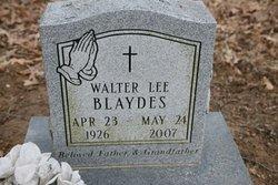 Walter Lee Blaydes, Sr