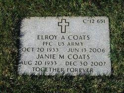 Janie Marie Coats