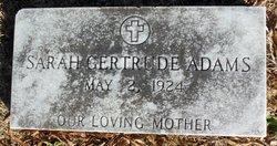 Sarah Gertrude <i>Higby</i> Adams