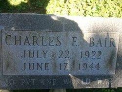 Pvt Charles E Bair
