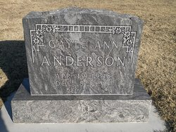 Gayle Ann <i>Crain</i> Anderson