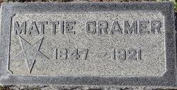 Martha B. Mattie <i>Pace</i> Cramer