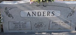 Jeanette <i>Murphy</i> Anders