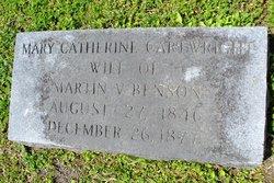 Mary Catherine <i>Cartwright</i> Benson