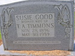 Susie Lee Belle <i>Good</i> Gassaway Timmons
