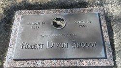 Robert Dixon Snoddy