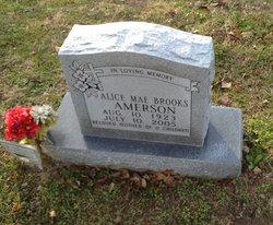 Alice Mae <i>Brooks</i> Amerson