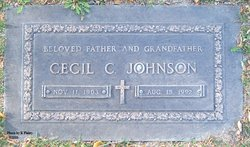 Cecil C Johnson