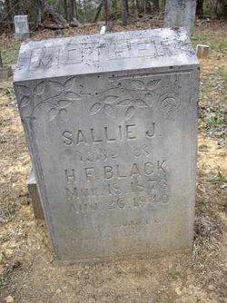 Sarah Jane Sallie <i>Bratcher</i> Black