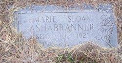 Marie <i>Sloan</i> Ashabranner