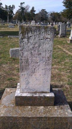 W. J. E. Lee