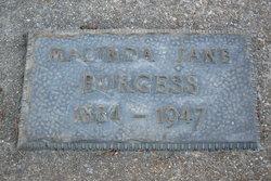 Maulinda Jane <i>Brown</i> Burgess