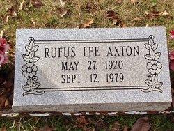 Rufus Lee Axton
