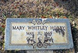 Mary <i>Whitley</i> Hobby