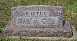 Nannie Lois <i>Gilbert</i> Burton