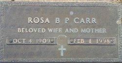 Rosa Belle <i>Proctor</i> Carr
