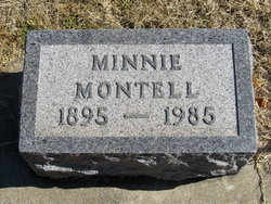 Minnie May <i>Allen</i> Montell