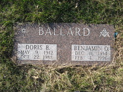 Doris B <i>McKee</i> Ballard