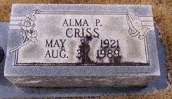 Alma P. Criss
