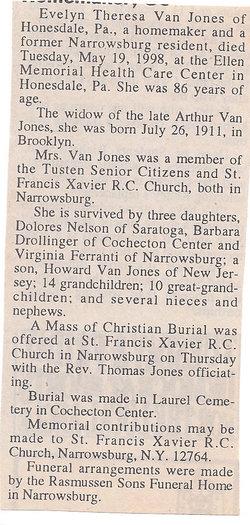 Evelyn Theresa Van Jones
