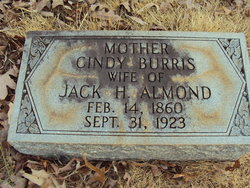 Lucinda W Cindy <i>Burris</i> Almond