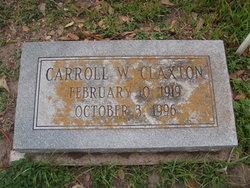 Carroll Winn Claxton