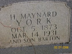 Horace Maynard York