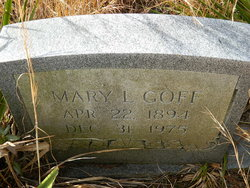 Mary <i>Little</i> Goff