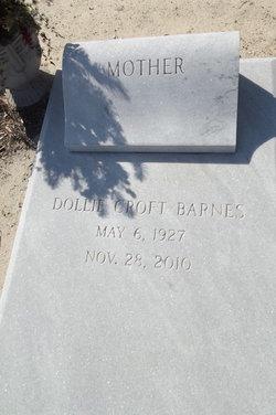 Dollie <i>Croft</i> Barnes