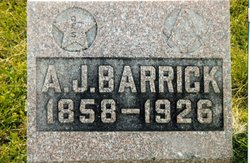 Andrew Jackson Barrick