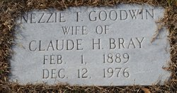 Nezzie T <i>Goodwin</i> Bray