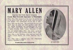 Mary <i>Norvell</i> Allen