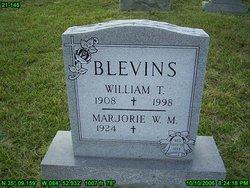 Marjorie W. Belle <i>Mullins</i> Blevins