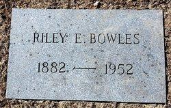 Riley Elton Bowles