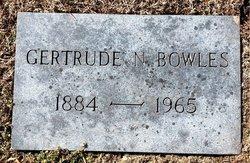 Gertrude Gertie <i>Norton</i> Bowles