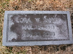 Lora <i>White</i> Sharp