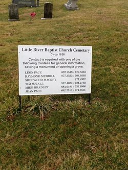 Little River Baptist Church Cemetery