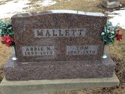 Nancy Abigail Abbie <i>Adams</i> Mallett