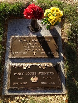 Pansy Louise Joni Johnston