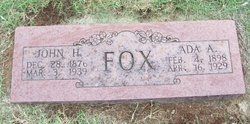 Ada A Fox