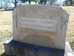 Mathilda Watson <i>Shepherd</i> Caldwell