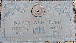 Nancy Ann Todd