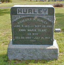 Anna Maria <i>Blake</i> Hurley
