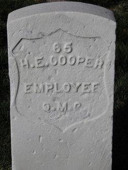 Harry E Cooper