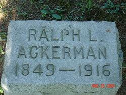 Ralph L Ackerman