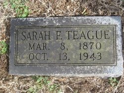 Sarah Frances <i>Estes</i> Teague